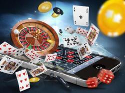cartes jetons dés roulette smartphone